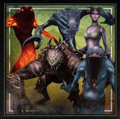 Five demons HoDA