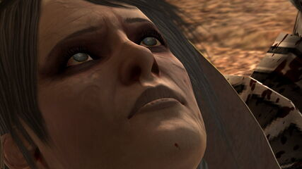 Leandra Remains Closeup