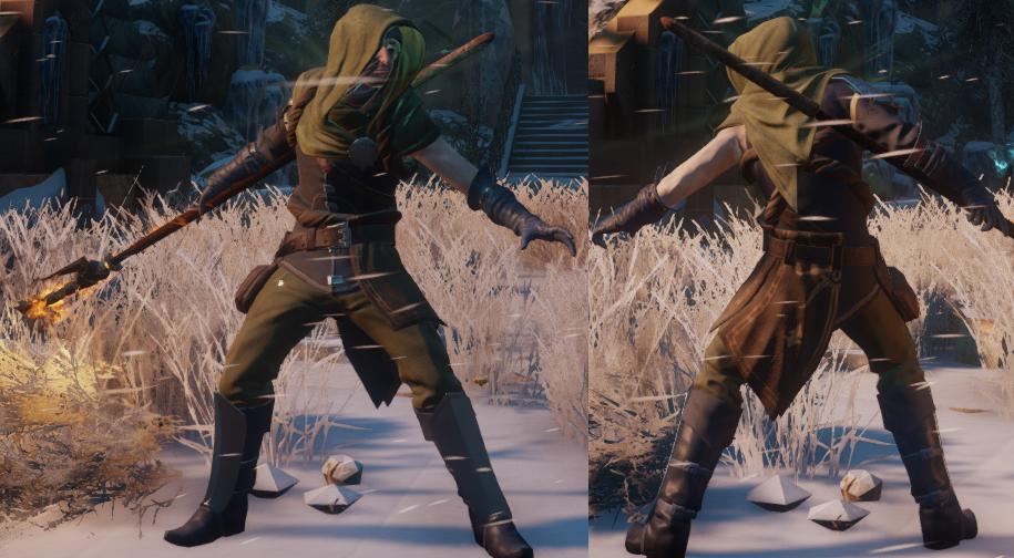 Elementalist's Inquisition Warmage Robes (Endurance)