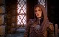 Leliana in ihrem Taubenschlag in Dragon Age Inquisition