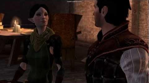 Dragon Age 2 All scenes with Merrill (cut content)