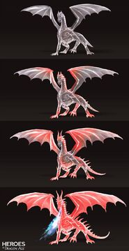 Малвернис дракон концепт HoDA