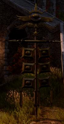 Circle of Magi Banner Skyhold