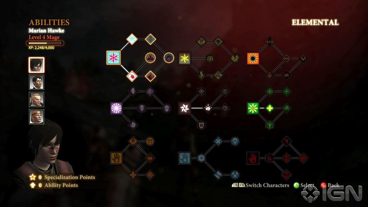 Spells (Dragon Age II)