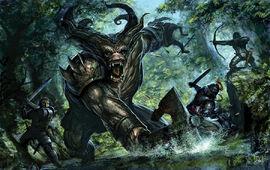 Dragon Age Ogre Fight by tycarey.jpg