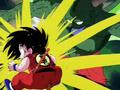 Goku vaincu par Tambourine