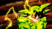 Enzimas disolviendo a Goku