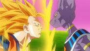 Bills vs Goku Super Saiyan 3
