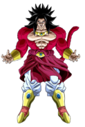 Broly Super Saiyajin 4 Art DB Heroes