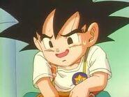 Goku jr en la escuela
