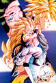 Gotenks SSJ3 vs Super Buu DBZ