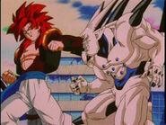 Gogeta vs Omega Shenron
