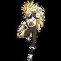 Vegeta - Xeno (Super Saiyan 3) (Artwork)