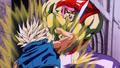 18. Kogu struggles against Super Saiyan Trunks