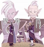 Zamas como Kaio del Norte manga a color