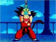 Goku obtiene el agua