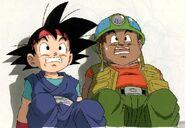 Puck y Goku Jr.