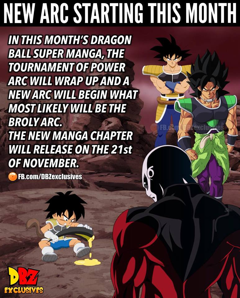 Albiga/Dragon Ball Super's new arc starting this month