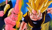 Goku SSJ3 vs Super Buu