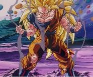 Goku ssj3 derrotaado