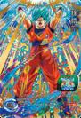 SDBH World Mission Card SH7-CP1 SSGSS Goku card (SDBH Set 7 - SSJ Blue Goku)