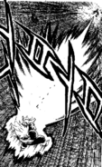 DBZ Manga Chapter 384 - Vegeta Final Flash 5