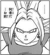 Kefla rostro manga