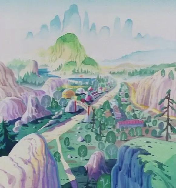 Octagon Village