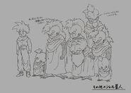 Sketch DBZ11 Habitantes