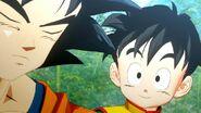 DB Game Project Z - Goku e Gohan 2