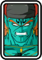 Super Dragon Ball Heroes World Mission - Face Icon - Bojack (King of Destruction)