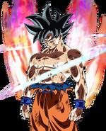 Son Goku egoísta Artwork