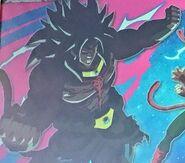 Broly Oscuro sin máscara SDBHUM10