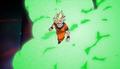 PTETES - Goku dodges Energy Wave Combo 2