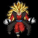 Vegetto - Xeno (Super Saiyan 3) (Artwork)