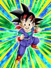 Dokkan Battle Quickening Superpower Goku Junior card