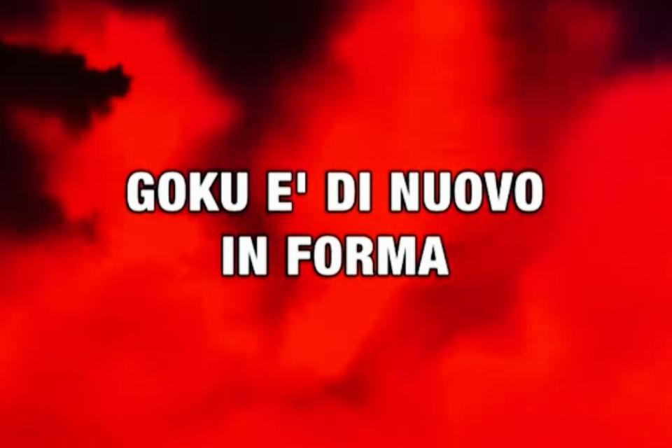 Goku è di nuovo in forma