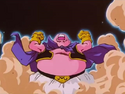 The Return of Uub - Majin Buu screams in a flashback