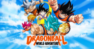 Dragon Ball World Adventure 2019 póster de Goku