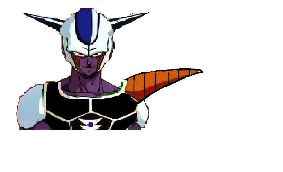 A saiyan warrior/Cooler's first form
