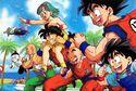 DRAGON BALL Z - Saiyan Saga Heroes running