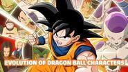 Evolution of Dragon Ball Characters
