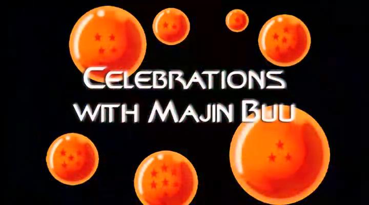 Celebrations with Majin Buu