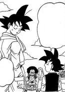 Dragon ball super manga cap 1 - mister satan e goten cercano di convincere goku a prendere i soldi