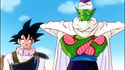 Piccolo and Goku looking Soldierly