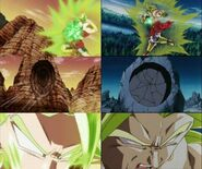 Comparisons between Broly and Kale2