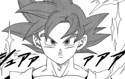 Dragon ball super manga cap 4 - goku super saiyan god.png