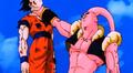 The Old Kai's Weapon - Super Buu chokes Gohan
