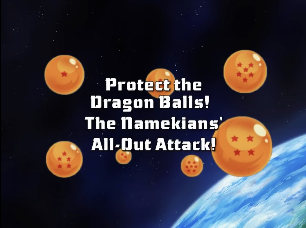 Protect the Dragon Balls! The Namekians' All-Out Attack!