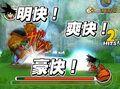 DBWii Goku VS Bear theif